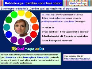 colore relook-age cambia immagine con il colore